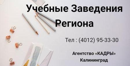 Учебные Заведения Региона